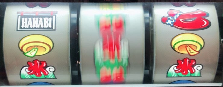 上段にノレン【基本形】:子役テンパイの例(風鈴&氷テンパイ)
