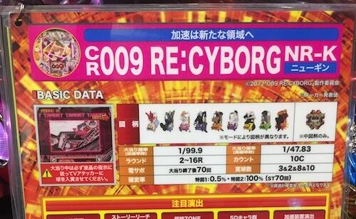 サイボーグ009(甘)のスペック